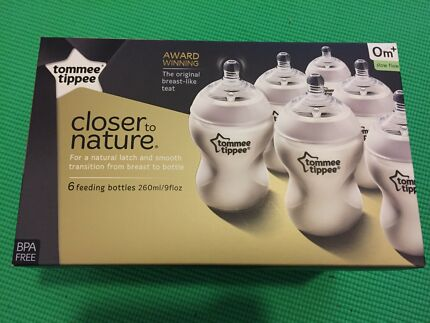 Brand New Tommee Tippee bottles 6 x 260ml