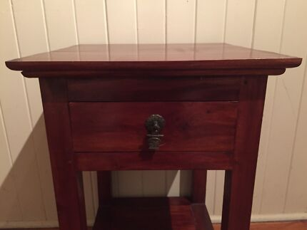 Balinese style timber bedside tables Taringa Brisbane South West Preview