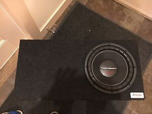 Subwoofer with Amp, pristine condition