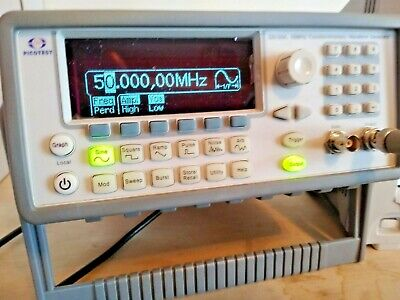 Picotest G5100a Arbitrary Waveform Function Generator. 50 Mhz Sine