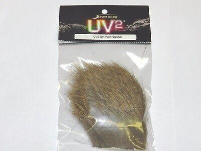 SPIRIT RIVER UV2 NATURAL COASTAL DEER HAIR FLY JIG TYING MATERIAL Closeout Price