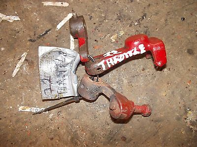 Massey Harris 22 Tractor Mh Throttle Bracket Parts