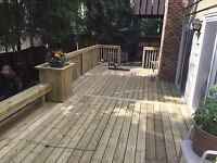 DO YOU NEED A DECK OR FENCE REPLACED