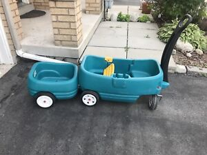 SECOND STEP KIDS WAGON AND TRAILER