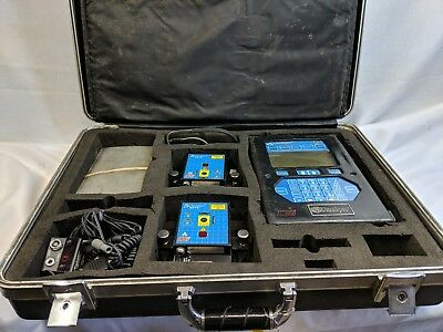Csi Emerson 8000 Ultraspec Laser Alignment With Clamp On Probes Shaft Balance