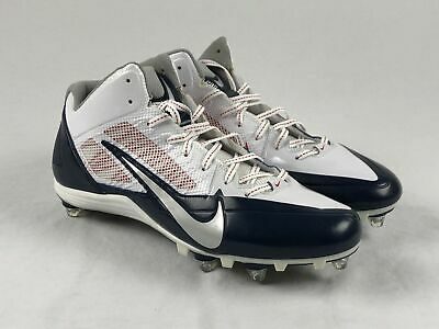 MENS NIKE ALPHA MENACE PRO TD FOOTBALL CLEATS SIZE 7//9.5//10//11.5//12 White//Green