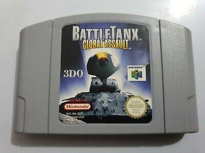 BattleTanx GLOBAL ASSAULT PAL EUR Nintendo 64 N64 SOLO CARTUCHO LEER