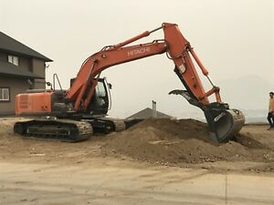 2017 hitachi 210 for rent or take over lease