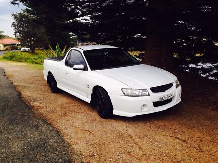 2005 vz ute May swap for a van  Lake Cathie Port Macquarie City Preview