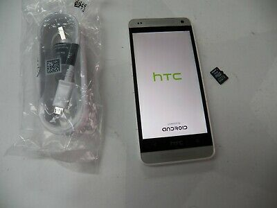 HTC One mini - 16GB - Glacial Silver (AT&T) Smartphone FREE BUNDLE & SHIP