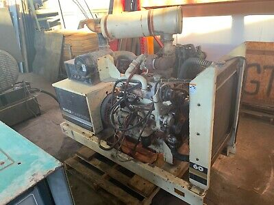 Used Kohler 60 Kw John Deere Diesel Generator Test Run Low Hours