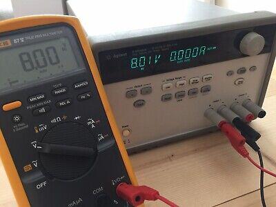 Agilent Hp E3648a 100w Dual Output Power Supply 0-8v5a 0-20v2.5a