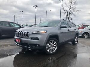 2016 Jeep Cherokee LIMITED**V6**LEATHER**SUNROOF**NAV**BLUETOOTH