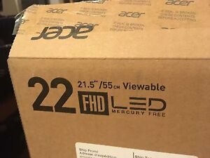 """Acer 22"""" 1080p LED Need Sold ASAP!"""