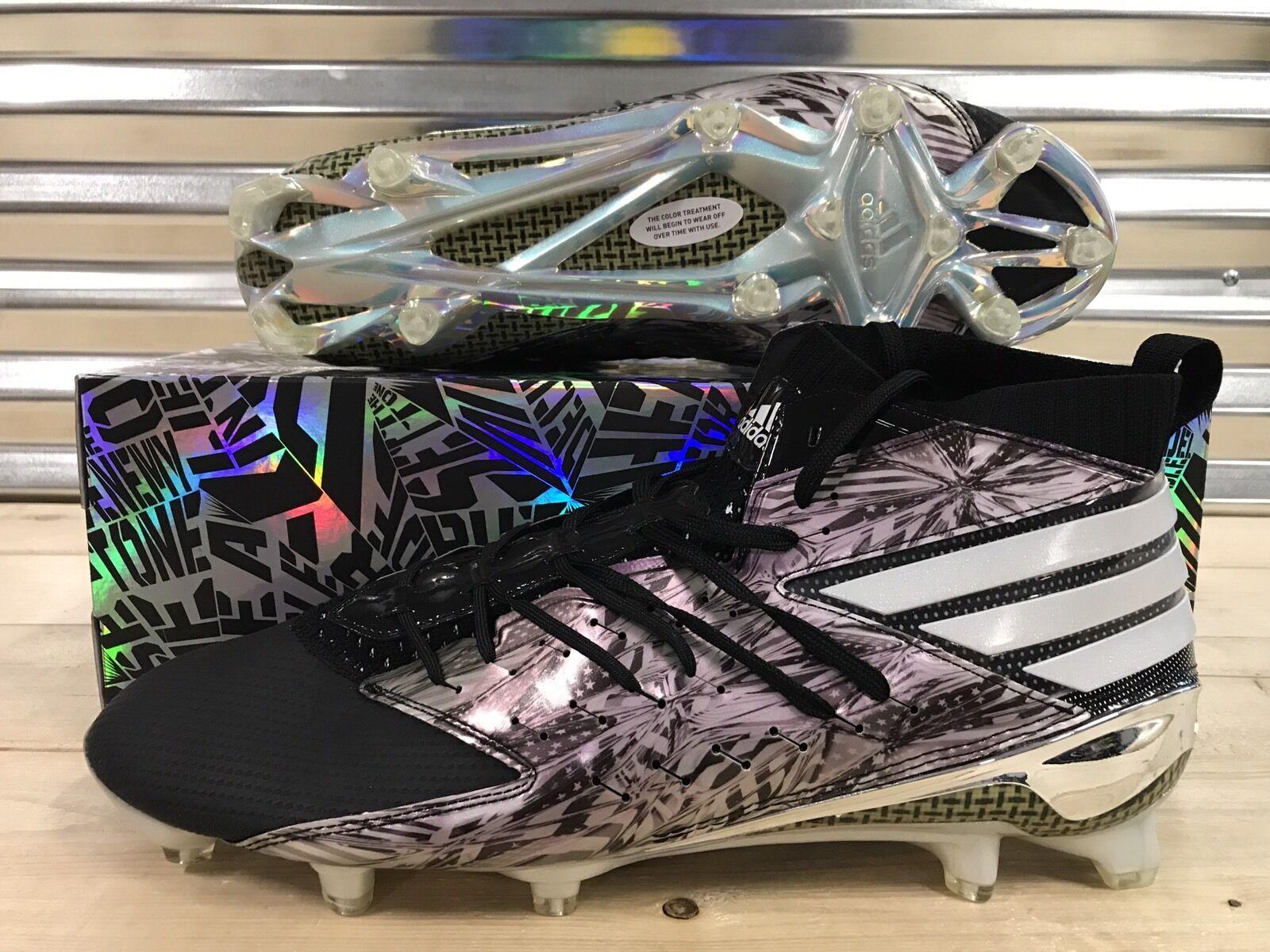a18551587e6 Adidas Freak X Primeknit Football Cleats Black White Platinum SZ ( AQ8796 )
