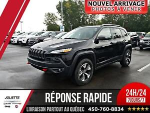 2016 Jeep Cherokee Trailhawk, 4X4, V6, PLAN OR!
