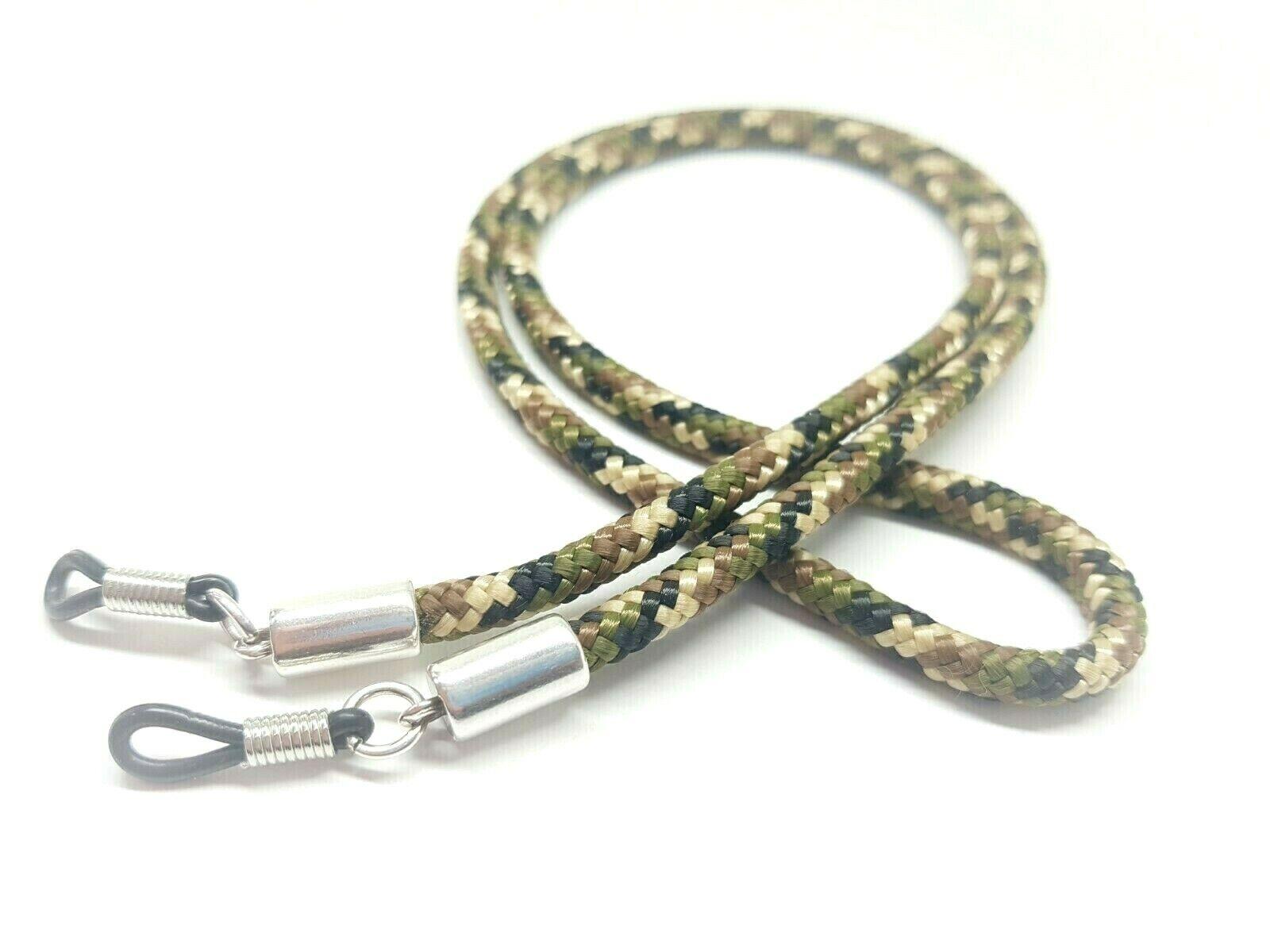 Brillenband SEGELSEIL / camouflage / silber / Herren / Damen / Brillenkordel