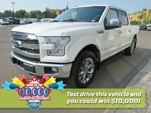 2016 Ford F-150 Lariat Lariat, tech package, power running bo...