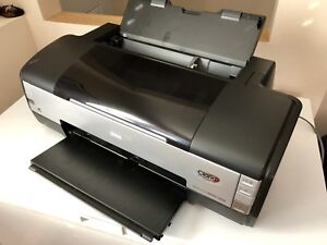 Giclée inkjet Epson Stylus 1400 photo printer, supples.
