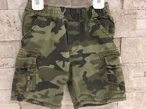 Boy Shorts Army Color 3T