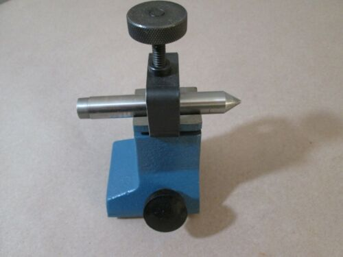 Optical Comparator Staging, Comb. V-Block/Center, Deltronic, Original Equip DH14
