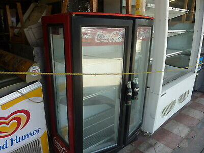 Beverage . Air 2 Glass Doors Coolernew Compressor 115v 4 Shelveslow Unit