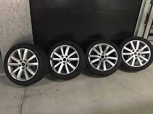 """Volkswagen Touareg 20"""" alloy rims and tyres Narrabeen Manly Area Preview"""