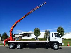 Mitsubishi FM 657 Crane Truck Welshpool Canning Area Preview