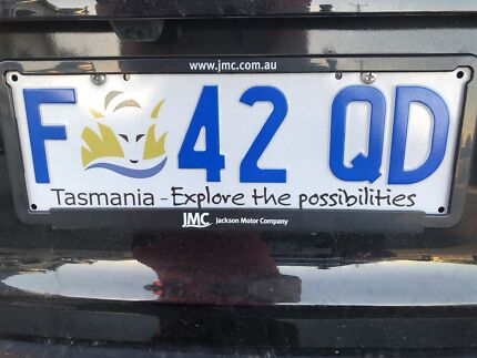 Missing number plate