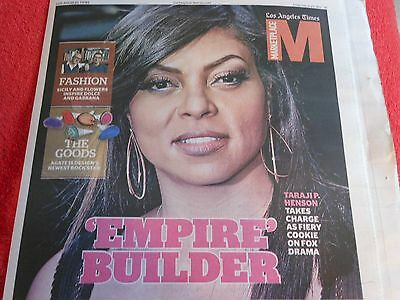 La Times Marketplace Magazine February 2015 Taraji Henson Empire Fashion Goods