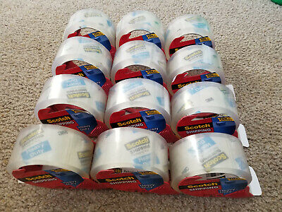 Scotch Heavy Duty Shipping Packaging Tape With Refillable Dispenser 3 Core
