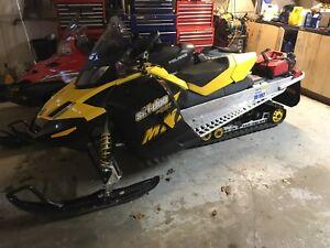 2009 skidoo mxz renegade 1200cc