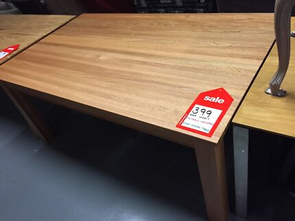 Cheap Hardwood Dining Tables - Factory 2nds - 50 to 70% off RRP Eumemmerring Casey Area Preview