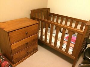 Cot & drawers Australian pioneer Balcatta Stirling Area Preview