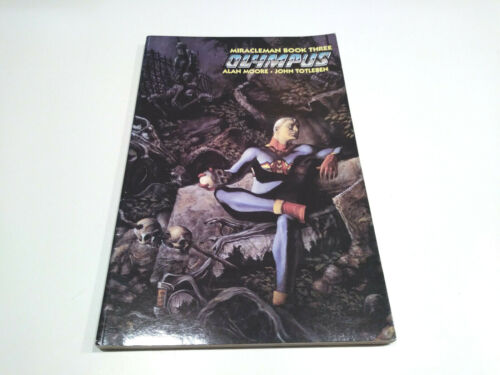 Miracleman Book Three: Olympus, Eclipse, 1st printing December 1990, rare!