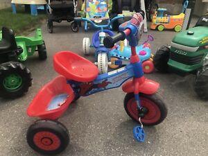 Children's Spider-Man bikes & more
