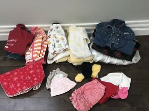 MOVING SALE:  0-12 month  baby girls clothing