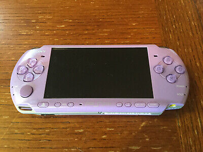 Sony PSP 3001 Hannah Montana Entertainment Pack Lilac System New Battery
