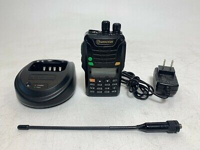 Wouxun Kg-uv6d High Power Dual Band Uhfvhf Two-way Radio W Charger