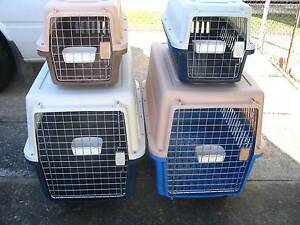 NEW AIRLINE Pet /Cat/ Dog Puppy crate-2 SIZES – FROM $36 Kingston Logan Area Preview