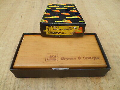 Brown Sharpe 7031-3 Bestest Dial Indicator .0005