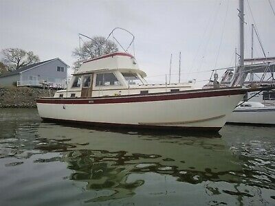 1973 Gulfstar 36 twin diesel,Tri-cabin, Trawler used boats for sale by owner