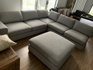 5 seater sofa chaise