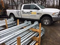 Goliathtech Screw Piles - Built on Experience & Know-how
