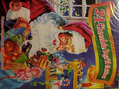 New Chocolate 24 Day Advent Christmas Calendar