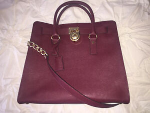 Michael Kors Hamilton Saffiano Leather Handbag