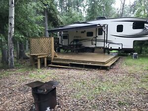 Sturgeon lake campground lot