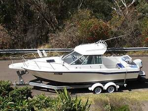 YAMAHA FC24 FULL CABIN HARD TOP FISHING CRUISING BOAT Barden Ridge Sutherland Area Preview