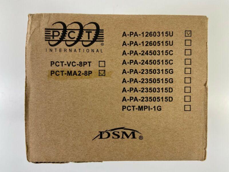 NEW! PCT International PCT-MA2-8P CATV Drop Amplifier with Passive Return