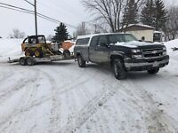 Skidsteer And Dump Trailer Service